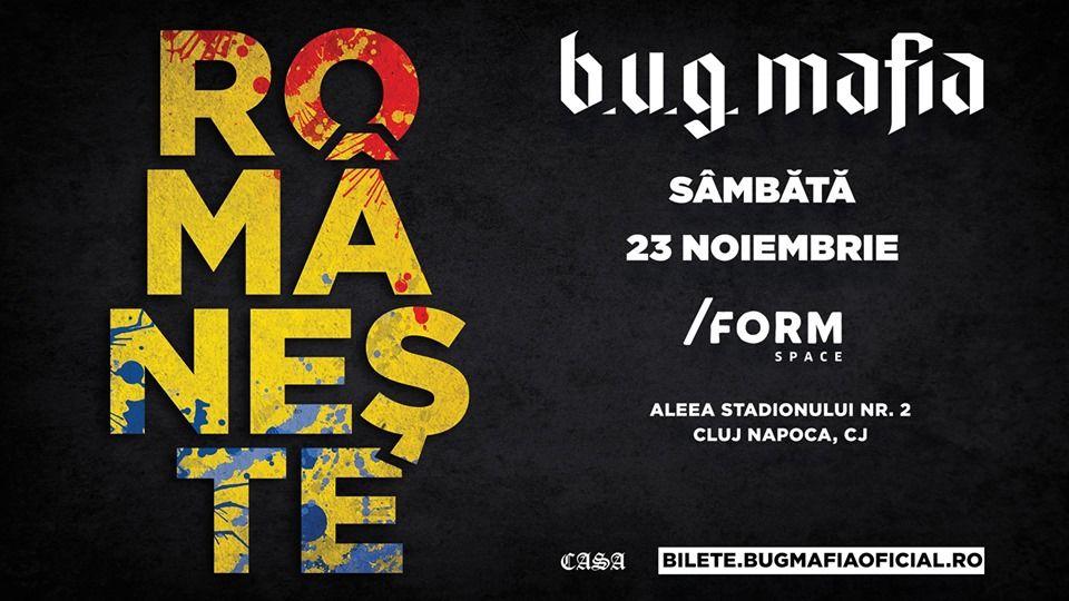 Imagini pentru concert bug mafia 23 nov