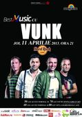 Concert Vunk la Hard Rock Cafe