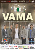 Vama - concert la True Club pe 1 martie