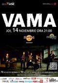 Vama concerteaza la Hard Rock Cafe pe 14 noiembrie