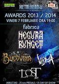 METALHEAD Awards 2013-2014  Negura Bunget, Bucovina si VIDMA
