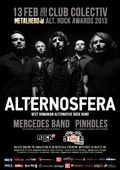 Alternosfera, Mercedes Band si Pinholes canta la decernarea premiilor METALHEAD ALT.ROCK Awards