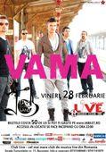Cel mai mare club de muzica LIVE se deschide cu VAMA pe 28 februarie