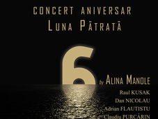 Concert aniversar Luna Patrata 6 by Alina Manole