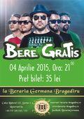Concert Bere Gratis pe 4 aprilie la Berăria Germană Bragadiru