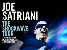 Superstarul american, JOE SATRIANI revine in Romania !