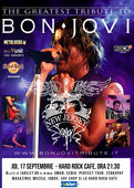 "Best Bon Jovi Tribute cu ""New Jersey"" pe 17 septembrie la Hard Rock Cafe"