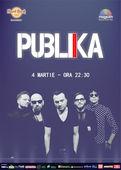 Concert PUBLIKA pe 4 martie, la Hard Rock Cafe
