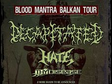 BLOOD MANTRA BALKAN TOUR 2016 ajunge la Cluj Napoca, in Flying Circus Pub