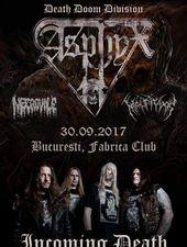 Concert Asphyx , Necrovile si Malpraxis
