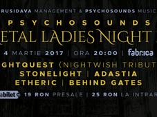 Psychosounds Metal Ladies Night III