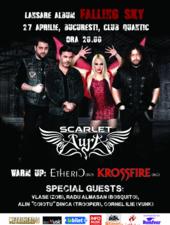Scarlet Aura - Concert de lansare a albumului