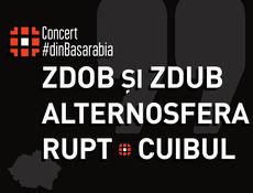 Alternosfera, Zdob si Zdub, Cuibul si Rupt – Concert #dinBasarabia