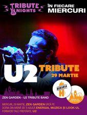 Concert tribut U2 cu Zen Garden