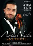 """""""ANTITRISTUL"""" – Concert Adrian Naidin"""