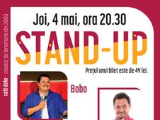 deKomedie – Live Stand-Up cu Bobo si Vancica, deschide Mihai Rait Dragomir