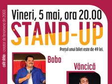 deKomedie – Live Stand-Up cu Bobo, Vancica si Sorin