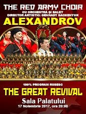 Corul Armatei Rosii revine la Bucuresti