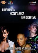 BestMusic cu Julie Mayaya, Nicoleta Nuca si Lori