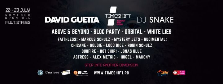 Timeshift Bucharest Dance Music Festival