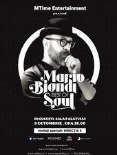 Mario Biondi in premiera in Romania