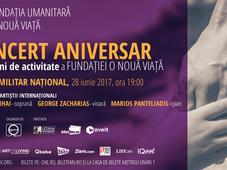 Concert Aniversar 20 de ani de activitate a Fundatiei O Noua Viata