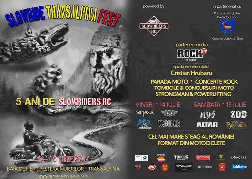 Slowride Transalpina Fest