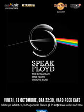 Concert Tribut Pink Floyd cu Speak Floyd
