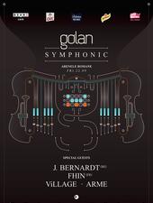 Golan Symphonic  with special guest:  J.Bernardt