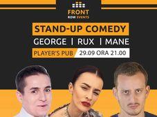 Stand Up Comedy cu George, Rux si Mane Voicu
