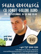 Concert Ionut Galani