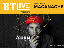 Macanache - BT Live at /FORM Space