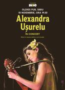 Alexandra Ușurelu în concert la Sibiu, 10 noiembrie