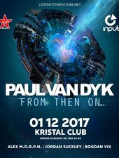 PAUL VAN DYK / From Then On - world tour