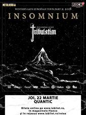 Concert Insomnium si Tribulation la Bucuresti