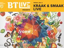 Kraak & Smaak - BT Live at /FORM Space
