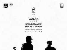SONOR w/ GOLAN live / Soundopamine / Heion / Alt om