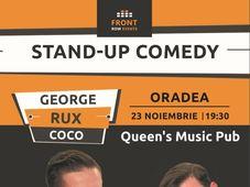 Stand-up comedy cu George, Rux & Coco