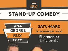 Stand-up comedy cu Ana, George, Rux & Coco