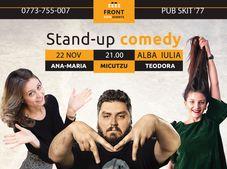 Show 3: Stand Up Comedy cu Micutzu, Ana-Maria si Teodora