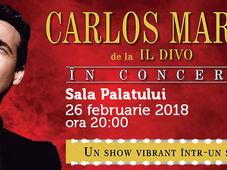CARLOS MARIN de la IL DIVO, în concert la București