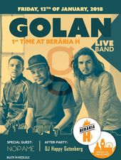 GOLAN (Live Band) | 1st Time at Berăria H