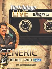 The Vintage Live prezinta: Generic