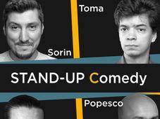 Stand-up @Vintage Pub Sibiu cu Sergiu, Toma, Sorin Pârcălab si Cristi Popesco
