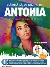 Antonia revine în Orașul cu Chef de Viață