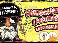 Concert Damian Drăghici & Brothers la Berăria H