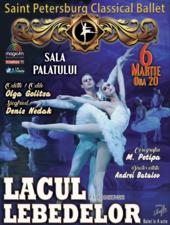 BALLET CLASSIQUE DE SAINT- PETERSBOURG - LACUL LEBEDELOR