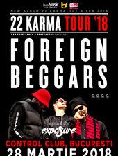 Foreign Beggars aduc Karma Tour la Bucuresti