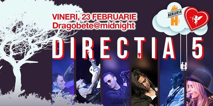 Concert Direcția 5 ✗ Dragobete @ Midnight
