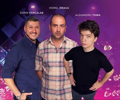 Stand Up Comedy cu Vio, Toma si Sorin Parcalab